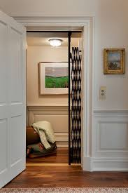Mediterranean Wall Sconces Elevator Cage Hall Traditional With Tradtional Paneling Glass Shade