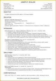 sle resume objective statements for internships resume objective exles for internships