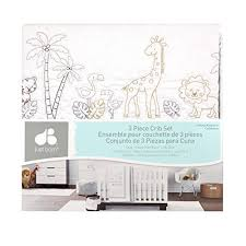 Nursery Bedding Sets Neutral Just Born Animal Kingdom 3 Crib Bedding Set Safari Jungle