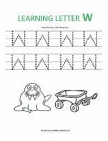 preschool letter tracing worksheets for writing practice