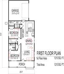 floor plan for sq ft house small low cost economical bedroom bath
