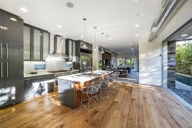 oak flooring for contemporary kitchen and bedroom hupehome