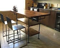 Industrial Kitchen Islands Industrial Kitchen Island Etsy