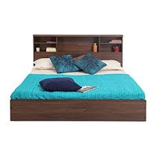 forzza westin queen size bed walnut amazon in home u0026 kitchen
