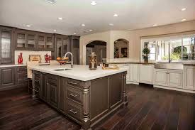 White Oak Kitchen Cabinets Brown Painting Painting Kitchen Cabinets From White To Dark Brown