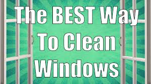 what is the best thing to use to clean wood cabinets the best way to clean windows