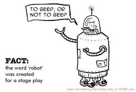 where does the word robot come from