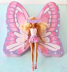 barbie mariposa cake cakecentral