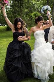 white black wedding dress will the white wedding dress tradition continue find out