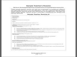 45 Best Teacher Resumes Images by Resume Format For Experienced Teachers Youtube