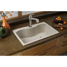Kitchen Sink Restaurant Stl by Elkay Quartz Classic Elgs3322rwh0 White Single Bowl Top Mount Sink