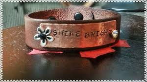 leather bracelet price images Heart strings quot words collection hand stamped leather bracelet jpg