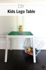 Lego Table With Storage For Older Kids Diy Kids Lego Table With Elmer U0027s Probond Advanced Lego Table