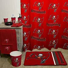 Nfl Shower Curtains Nfl Buccaneers Shower Curtain 72 X 72 Inches Football Themed