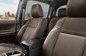 toyota leather seats does the toyota tacoma come with leather seats