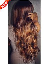 Light Brown Auburn Hair Light Auburn Ombre Indian Remy Clip In Hair Extensions Ms3020