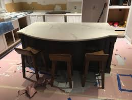 how much overhang for kitchen island not enough kitchen island overhang