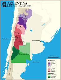 Patagonia South America Map by Region Argentina Cheers