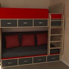 High Sleeper With Sofa And Desk Modern High Sleeper Sofa Bed Furniture Store