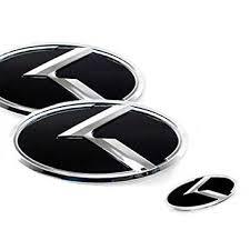 hyundai sonata logo amazon com hyundai k logo yf sonata ix45 3d emblem set 3pc