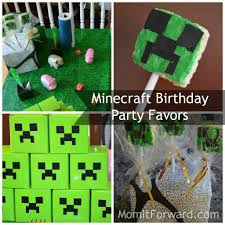 minecraft party favors minecraft birthday party favors momitforward it forward