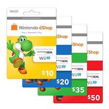 nintendo eshop gift card nintendo eshop gift card various amounts nintendo yoshi and gift