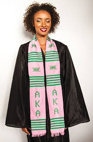 sorority graduation stoles nphc kente stoles midwest global inc global