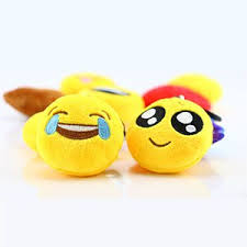 amazon com dreampark mini cute emoji keychain 36 pack plush