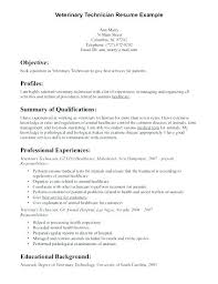 resume objective statement exles management issues vet tech resumes veterinary technician resume objective exles