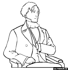 Presidents Online Coloring Pages Page 1 The Color Page
