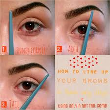 How To Arch Eyebrows Howto Childoftheuniversebeauty