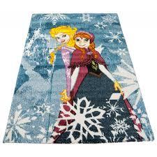 tappeti per bambini disney tappeto per bambini frozen and elsa190x133 cm galleria
