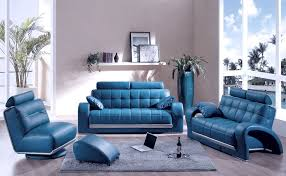 Blue Leather Armchair Living Room Elegant Navy Blue Living Room Decor Ideas With