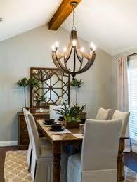 Light Fixture Dining Room Rectangle Chandelier 7 Fabulous Farmhouses Pinterest