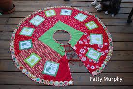 handprint tree skirt patty murphy handmade