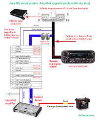 how to bypass the stock infinity amp jeepforum com