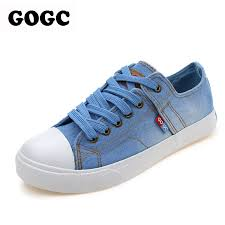 Shoes With Comfortable Soles Aliexpress Com Buy Gogc Designer Denim Shoes Comfortable Thick