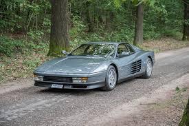 classic ferrari testarossa ferrari testarossa modern classics automotive