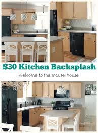kitchen backsplash vinyl backspalsh decor