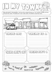 english teaching worksheets the city