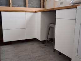 Ikea White Storage Cabinet White Solied Wood Pantry Cabinet With Untreated Wooden Countertop
