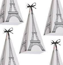 eiffel tower favors of 8 eiffel tower treat boxes sweet 16 party favors