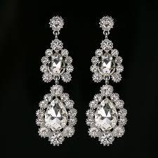 drop earrings wedding online shop yfjewe white drop earrings for women wintage