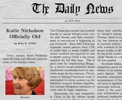 Newspaper Meme Generator - funny newspaper generator with your own picture