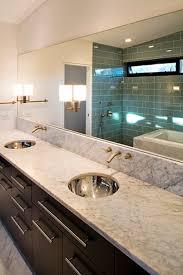Bathroom Vanities With Marble Tops Gorgeous Long Narrow Marble Top Bathroom Vanity Units With Duo