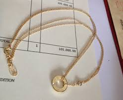 cartier yellow gold necklace images Cartier love necklace white gold pink gold yellow gold for sale jpg