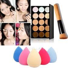 Makeup Contour 15 colors contour makeup concealer palette sponge puff