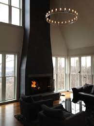 paint brick fireplace surround houses designing ideas a black