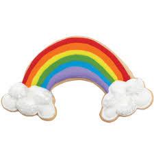 lucky rainbow cookie wilton