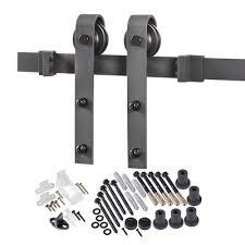 black cabinet door handles lowes reliabilt matte black barn door kit lowes